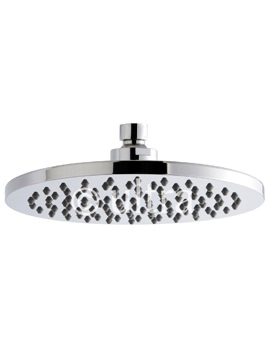 Ultra Round 200mm Fixed Shower Head - HEAD49