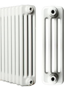 Roma Horizontal 4 Column Steel Radiator 1600 x 600mm - 4C6H1600