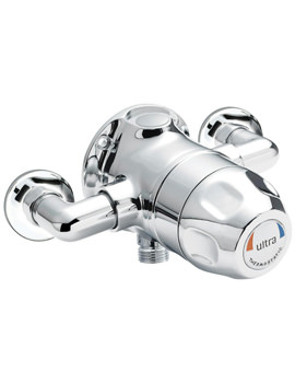Related Ultra TMV3 Exposed Sequential Thermostatic Shower Valve - TMVSQ1