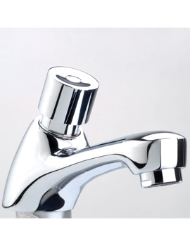Related Mayfair Non Concussive Pair Of Chrome Basin Taps - CON120