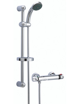 Dune Thermostatic Bar Shower With Slide Rail kit - A3910