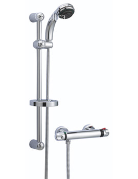 Related Ultra Reef Thermostatic Bar Shower With Slide Rail kit - A3900
