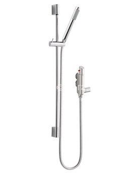 Thermostatic Mixer Showers With Bar Valve Exposed And
