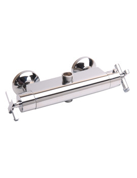 Surf Thermostatic Bar Valve With Diverter Chrome - RDX230