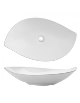 Bauhaus Gallery Leaf 650mm Countertop Basin Without Overflow