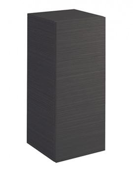 Bauhaus Elite Half Tower Storage Unit 350 x 800mm Anthracite