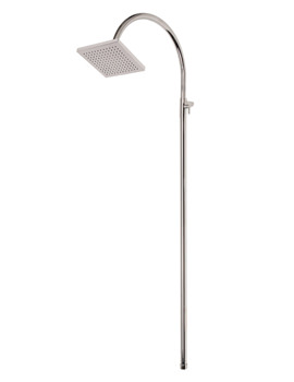 Wave Adjustable Riser With 8 Inch Shower Head-RDL300