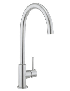 Related Crosswater Cucina Kai Lever Stainless Steel Kitchen Sink Mixer Tap