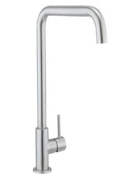Related Crosswater Cucina Ninety Stainless Steel Side Lever Kitchen Sink Mixer Tap