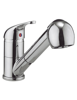 Related Crosswater Cucina Vital Kitchen Sink Mixer Tap With Pull Out Spray