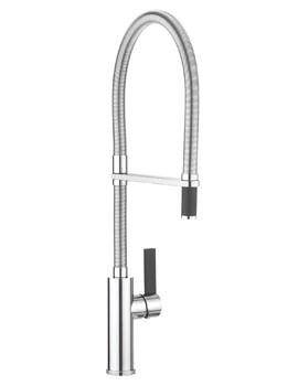 Related Crosswater Cucina Tone Side Lever Kitchen Sink Mixer Tap With Flexi Spray