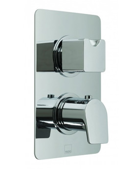 Photon Concealed 2 Handle Thermostatic Shower Valve - 1 Outlet