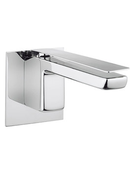 Kelly Hoppen Zero 3 Wall Mounted 2 Hole Basin Mixer Tap Set