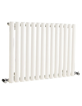 Revive Single Panel Small White Radiator - HL324
