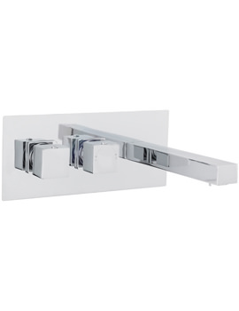 Related Ultra Volt Wall Mounted Thermostatic Basin And Bath Filler Tap