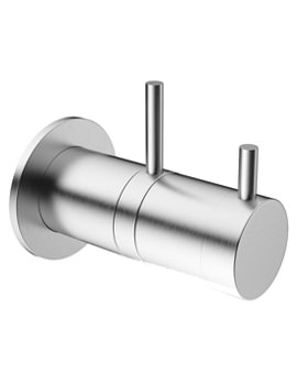 Mike Pro Brushed Chrome Thermostatic Shower Valve