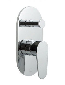 Ascent Single Lever Concealed Manual Shower Valve With Diverter