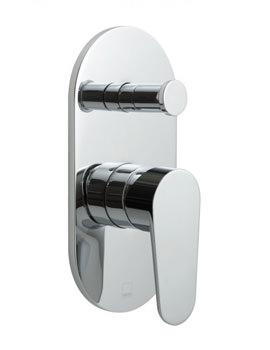 Ascent Single Lever Concealed Manual Shower Valve With Diverter