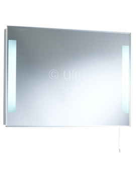 Ultra Adela Backlit Bathroom Mirror 700 x 500mm - LQ345