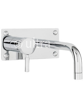 Ultra Helix Wall Mounted Basin and Bath Filler Tap - PK328