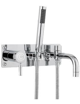 Helix Wall Mounted Bath Shower Mixer Tap - PK350