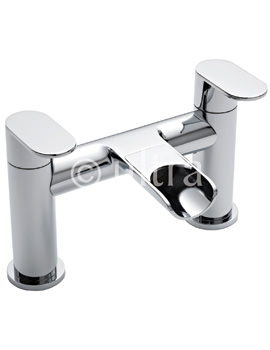 Related Ultra Flume Deck Mounted Open Spout Bath Filler Tap - FLU313