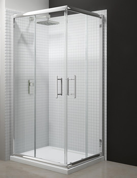 Merlyn 6 Series Corner Double Sliding Door Shower Enclosure 800 x 1900mm