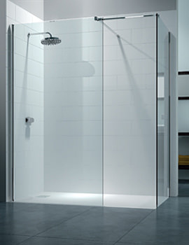 Merlyn 8 Series Walk In Enclosure With End Panel 1400 x 900mm - M80291