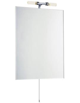 Vantage Standard Mirror With Light 600 x 800mm - LQ379