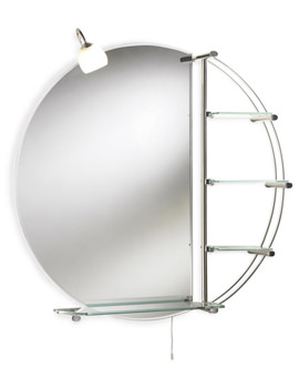 Ultra Magnum Round Mirror With Light 800mm - LQ310