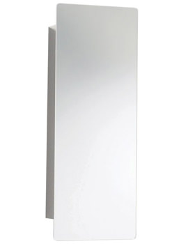 Ultra Reveal Mirrored Cabinet With Hinged Door 250 x 660mm - LQ384
