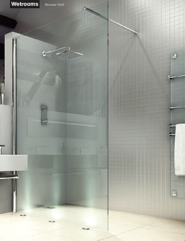 Merlyn 8 Series Wetroom Shower Panel 700mm - M8SW201
