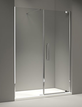 Merlyn 10 Series 1600mm Pivot Door And Inline Panel - M101271C