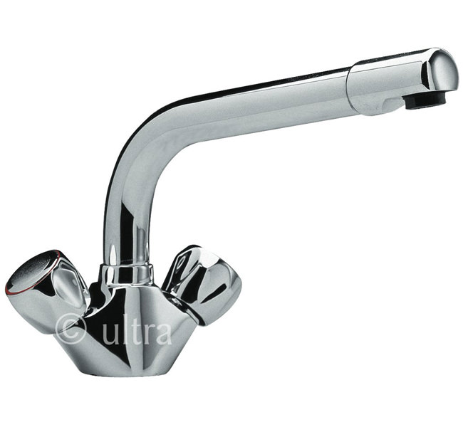 Large Image of Ultra Eon Mono Kitchen Sink Mixer Tap - KA303
