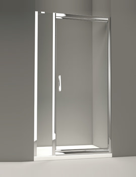 Related Merlyn 8 Series 900mm Infold Shower Door With 1 Inline Panel - M84421P