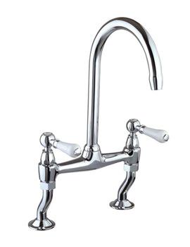 Related Mayfair Provencale Chrome Mono Kitchen Sink Mixer Tap - KIT213