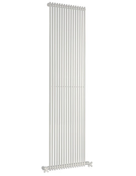 Related DQ Heating MKV25 White 236x1810mm Single Vertical Radiator 6 To 20 Sections