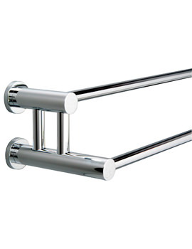 Montana Double Towel Rail 650mm - 6727C