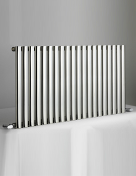 Cove 1180 x 600mm Stainless Steel Single Horizontal Radiator