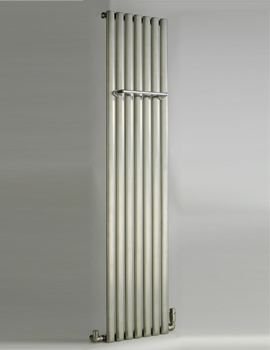 DQ Heating Cove 295 x 1800mm Stainless Steel Single Vertical Radiator