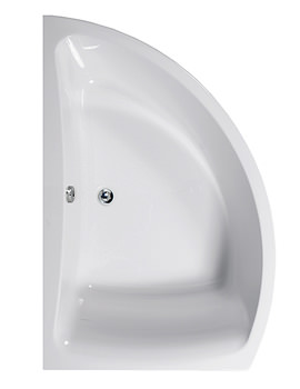 Comet 1500 x 1000mm Left Hand Corner Bath - 154COMETLH