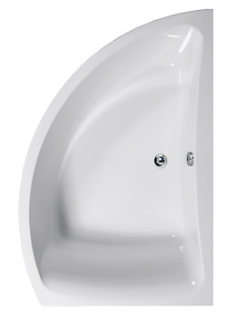 Comet 1500 x 1000mm Right Hand Corner Bath - 154COMETRH