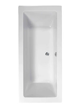 Image of Aquaestil Plane 1900 x 800mm Double Ended Bath - 154PLANE1980