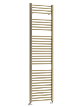 DQ Heating Nemo Platinum Finish 500 x 800mm Heated Towel Rail