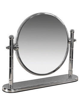 Miller Classic 190mm Round Magnifying Mirror With Stand - 683C