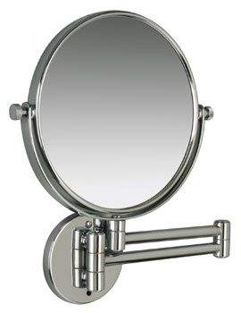 Miller Classic Modern 190mm Round Magnifying Mirror - 8781C