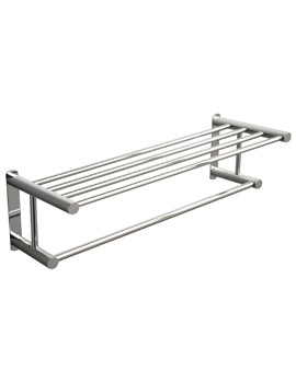 Classic Towel Rack With Rail 620mm - 667C