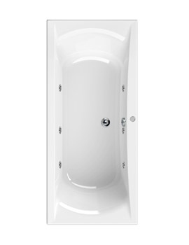 Arena 1800 x 800mm 6 Jets Whirlpool Bath