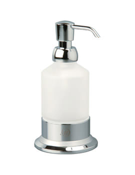 Miller Classic Frosted Glass Lotion Bottle - 6335C-S