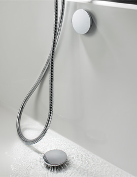 Wisp Digital Bottom Filling Bath Waste - DGX0700C